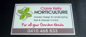 Claire Kelly Horticulture