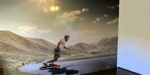 Skateboard Wall Feature